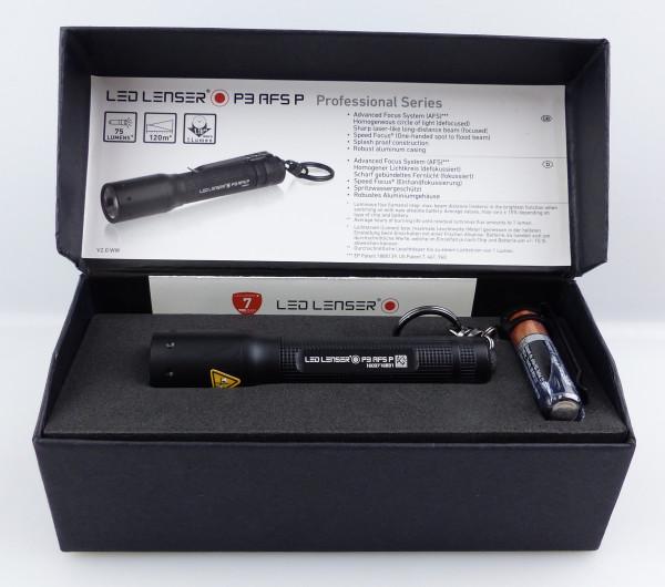 B Ware Ledlenser 8403-AP Taschenlampe P3 AFS P im Etui J081