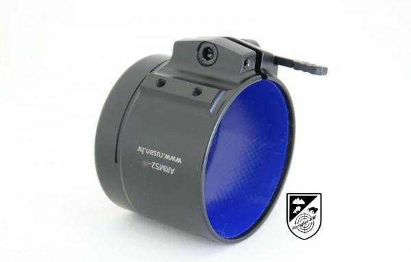 Rusan Adapter ARM52 Schnellspannverschluss innen gummiert 51mm
