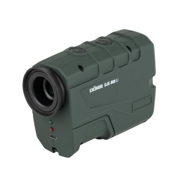 DÖRR 900422 Jagd Laser Entfernungsmesser DJE-800Li bis zu 800 m grün