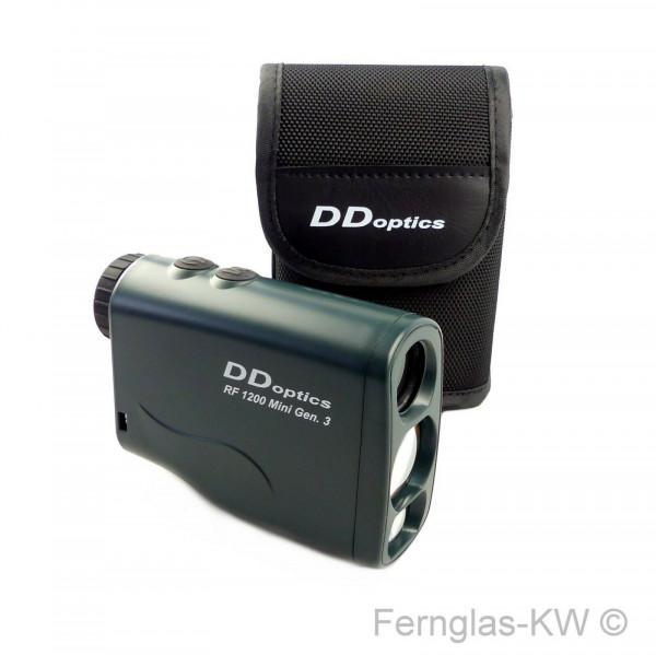 DDoptics Rangefinder Laser Entfernungsmesser RF 1200 Mini Gen 3 mit Tasche