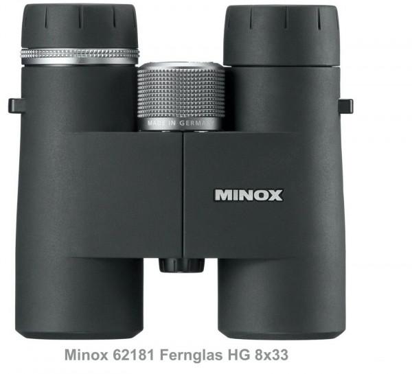Minox 62181 Fernglas HG 8x33 BR Made in Germany Pirschjagd und Outdooraktivität