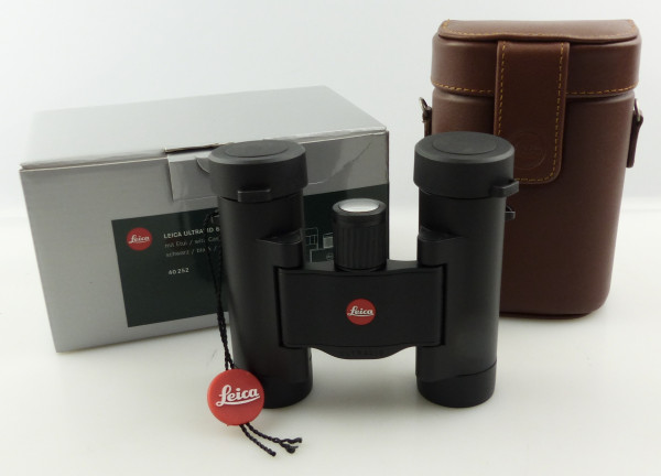 B Ware Leica Fernglas Ultravid 8x20 BR SW mit Tasche und Riemen J074