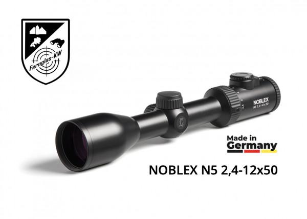 Zieloptik NOBLEX N5 2,4-12x50 Absehen 4i made in Germany 56914