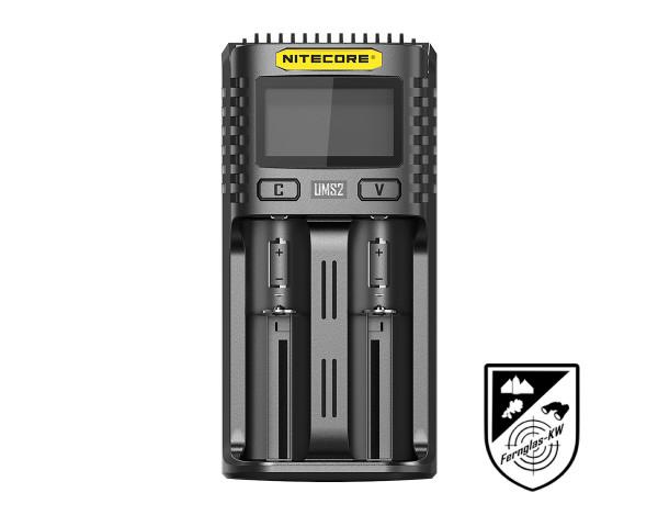 Nitecore NC-UMS2 USB-Schnell-Ladegerät
